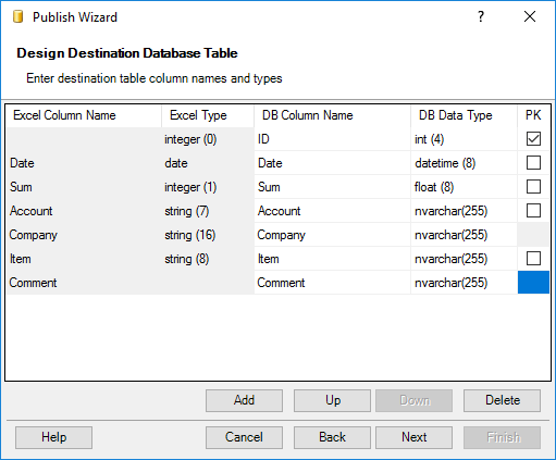 Remove spaces in column names