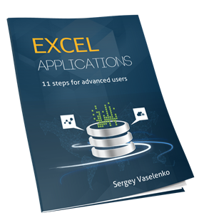 Excel Applications. 11 Steps for Advanced Users