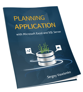 Planning Application with Microsoft Excel and SQL Server