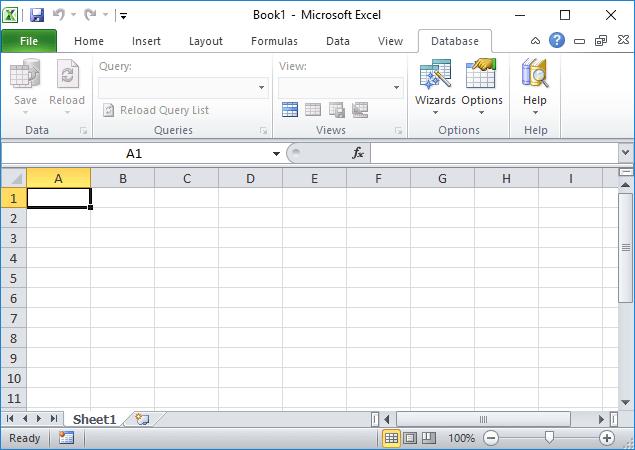 Install the SaveToDB add-in