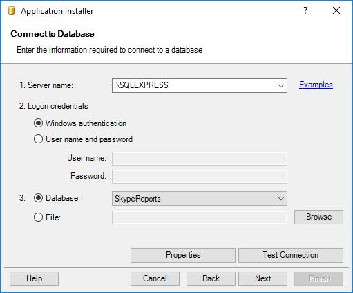 Installing SaveToDB Framework - Connecting Database